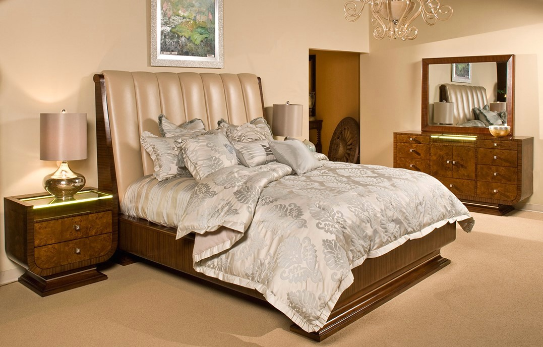 michael amini bedroom set michael amini cloche traditional bourbon bedroom set by aico 16181