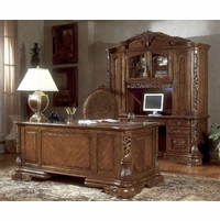 Michael Amini Excelsior Home Office Furniture Set by AICO