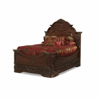 Michael Amini Excelsior Traditional Queen Mansion Bed by AICO