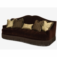 Michael Amini Imperial Court Tufted Sofa - 79815-EGPLT-00 by AICO