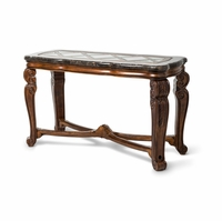 Michael Amini Traditional Style Tuscano Melange Console Table by AICO