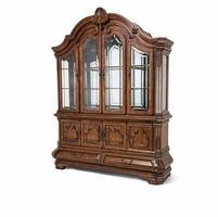 Michael Amini Tuscano Melange China Cabinet with Storage Drawer by AICO