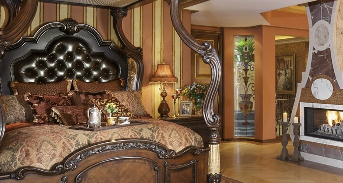 Michael Amini Victoria Palace. Luxurious Bedroom Collections