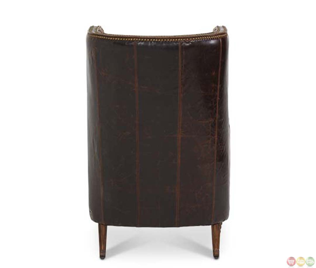 Leather Couch With Fabric Accent Chair: Michael Amini Victoria Palace Leather And Fabric Wing