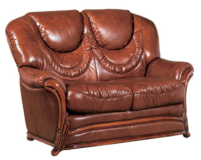 Tremendous Details About Updated European Classic Umber Genuine Top Grain Italian Leather Loveseat Brown Caraccident5 Cool Chair Designs And Ideas Caraccident5Info