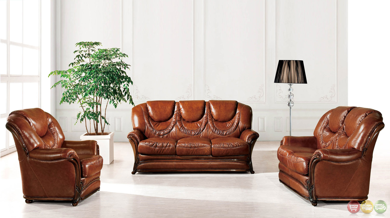 European updated traditional umber genuine leather sleeper for European leather sofa