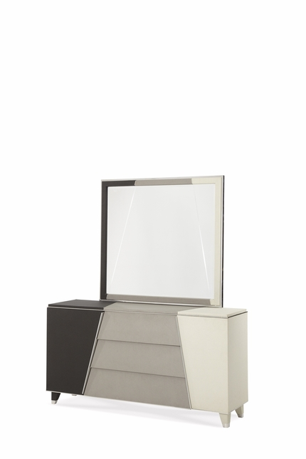 Michael Amini Beverly Blvd Contemporary Upholstered Dresser by AICO
