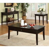 Middleton Contemporary Dark Cherry Accent Tables Set