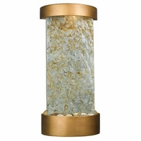 Midstream Table Wall Fountain Natural Slate Copper - 53238SL