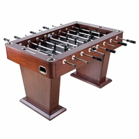 Carmelli Millennium 55-in Foosball Table with 4 Stainless Steel Drink Holders