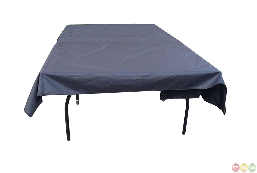 Moisture Resistant 122 8 Inch Table Tennis Cover Black