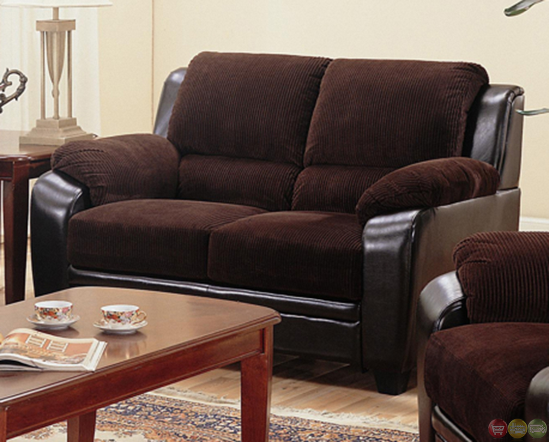 Corduroy couch corduroy sofa shop factory direct for Brown corduroy couch