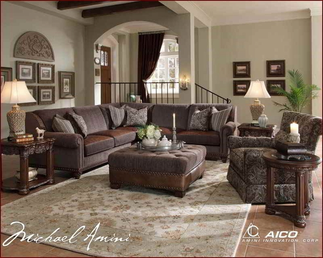 Admirable Michael Amini Monte Carlo Ii Sectional Sofa By Aico Unemploymentrelief Wooden Chair Designs For Living Room Unemploymentrelieforg