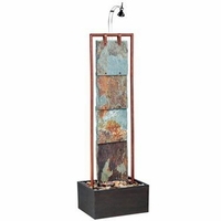 Montpelier Four Slate With Copper Floor Fountain - 50151COP
