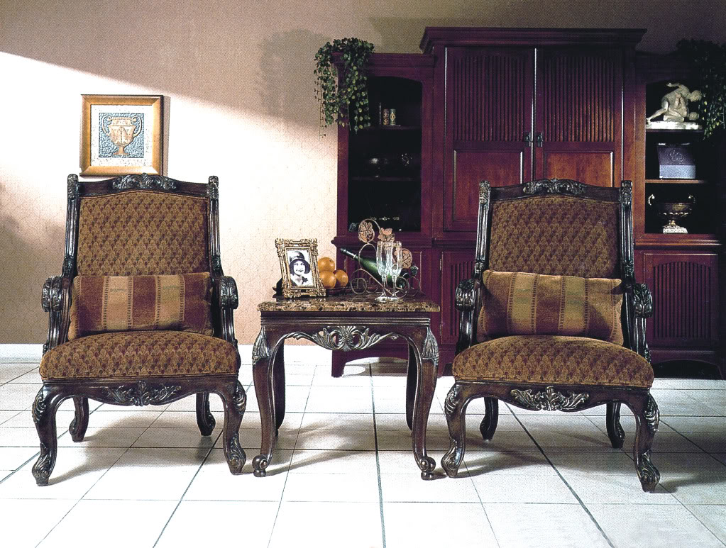 leather amp fabric traditional sofa set formal living room