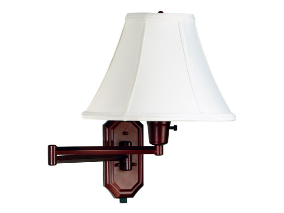 Swing Arm Wall Lamp Brass Finish : Nathaniel Wall Swing Arm Lamp Bronze Finish