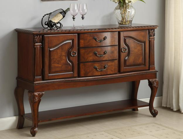 Neo Renaissance Formal Dining Room Traditional Sideboard