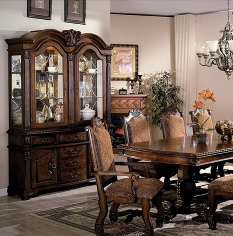 Dining Room Buffet Hutch: Neo Renaissance Traditional Formal Dining Room China
