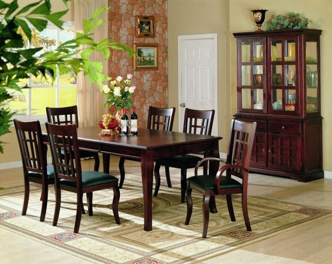 Newhouse Dining Room Set Table Chairs Modern Design Coaster 100500