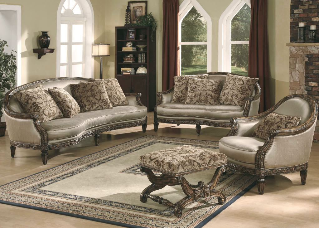 Benetti 39 s italia cosenza sofa set for Formal living room furniture