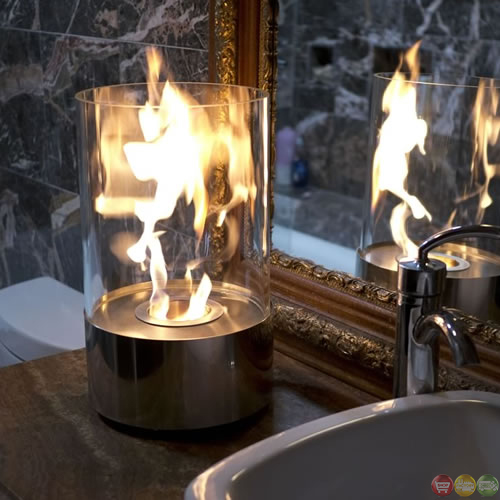 Nu Flame Accenda Eco Friendly Tabletop Indoor Fireplace