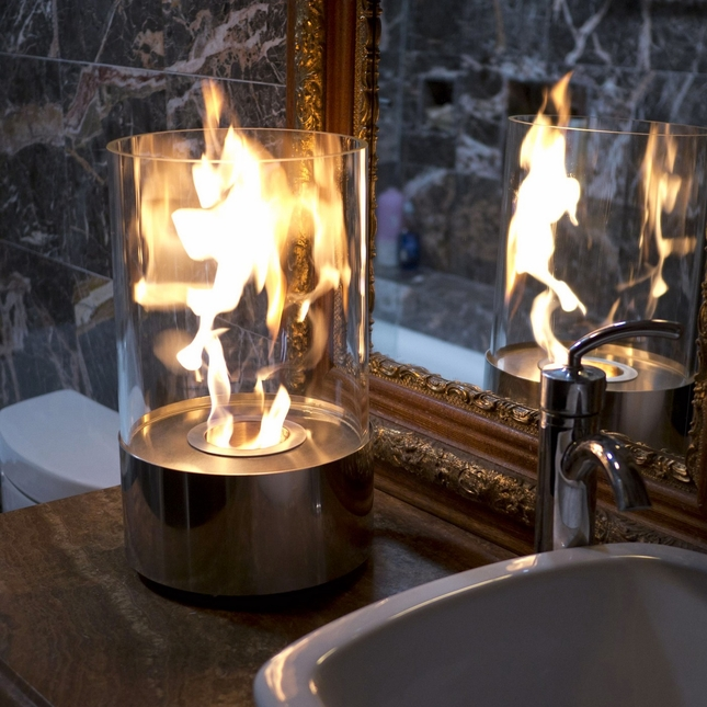 Nu-Flame Accenda Eco Friendly Tabletop Indoor Fireplace
