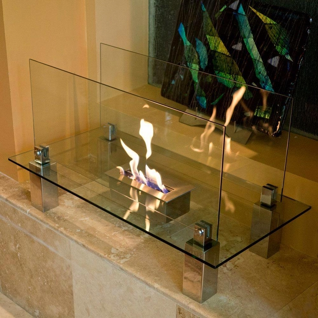 Nu-Flame Fiero Freestanding Indoor Floor Fireplace