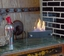 Nu-Flame Irradia Noir Tabletop Personal Fireplace