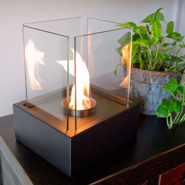 Nu-Flame Lampada Tabletop Fireplace Lantern