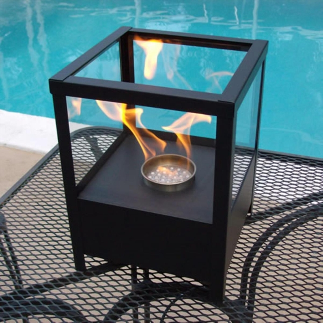 Nu-Flame Sparo Tabletop Fireplace Outdoor Party Lantern