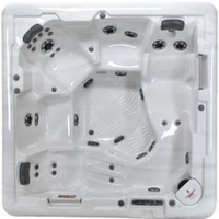 Oahu Spa Hot Tub Leisure Bay Jets Acrylic Large