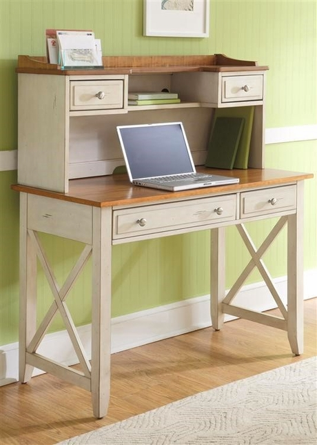 Ocean Isle Coastal Cottage Style Transitional Home Office Desk