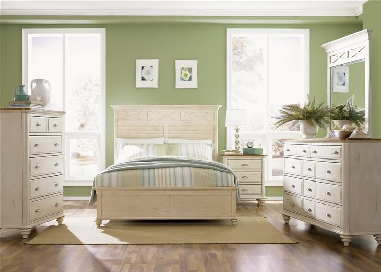 ocean isle cottage bisque panel bedroom furniture set 11146 | ocean isle cottage bisque panel bedroom set 303 br p 117