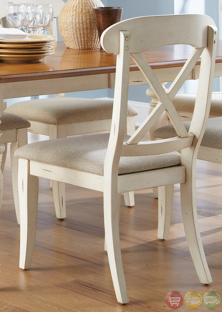 Ocean isle cottage rectangular table casual dining set for Casual dining table set