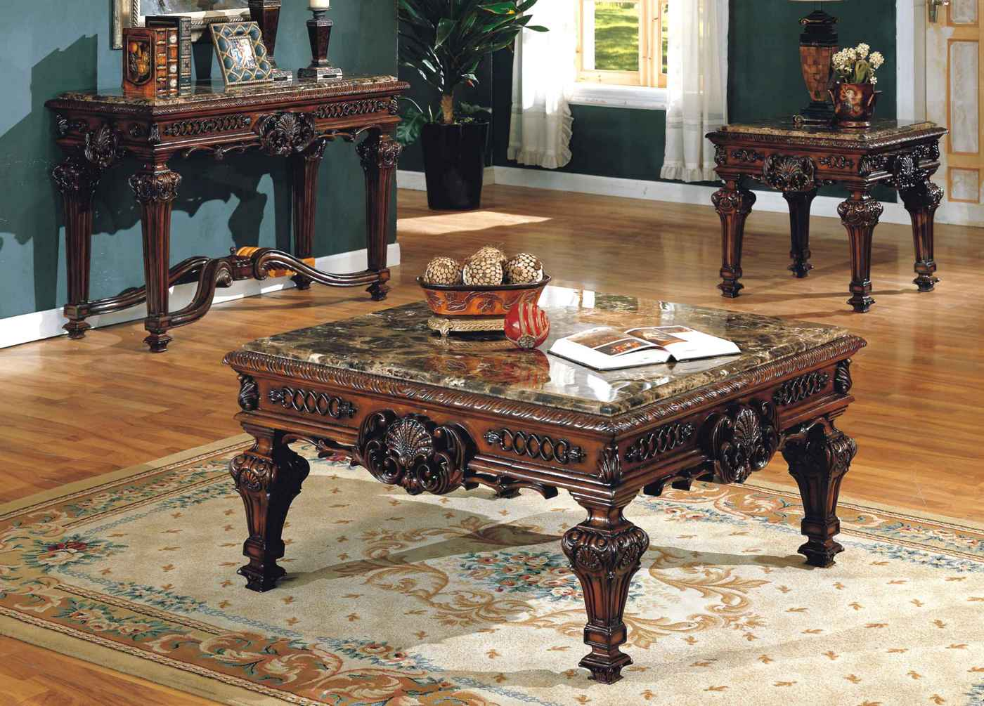 old world estate traditional ornate marble end table. Black Bedroom Furniture Sets. Home Design Ideas