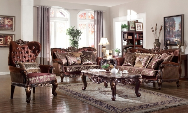 Opulent Traditional Luxury Formal Sofa Set Home Design Ideas