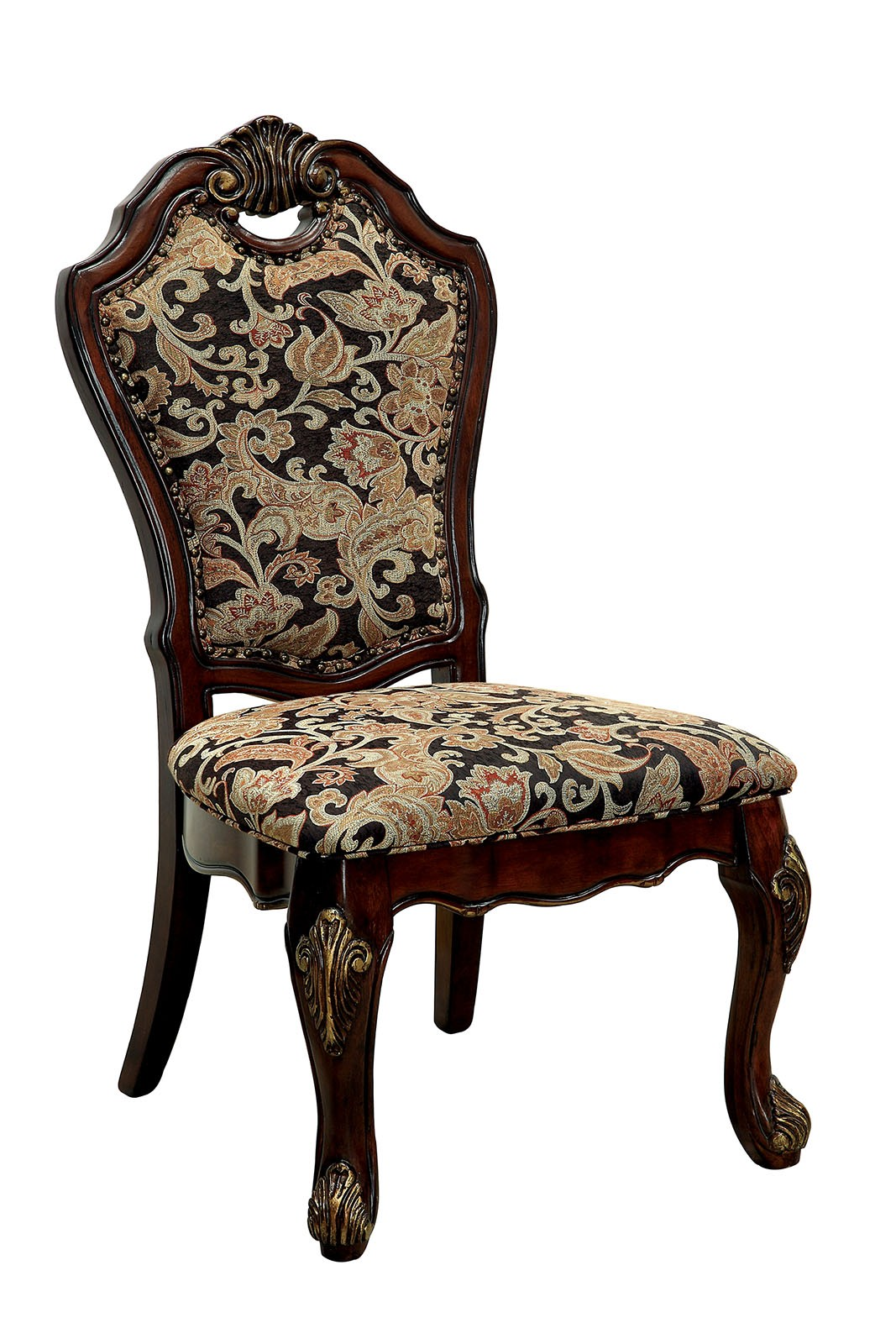 Opulent traditional style formal dining room furniture set for Formal dining chairs
