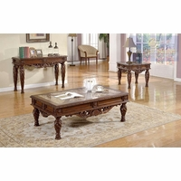 Living Room 3 Piece Table Sets fontaine traditional living room set sofa love seat chair exposed