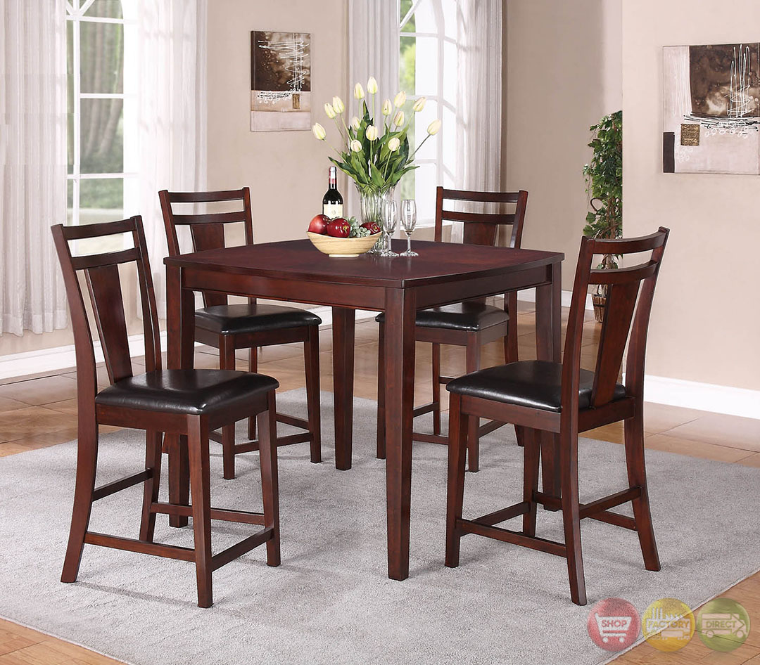 Paige Traditional Medium Wood Casual Dining Set RPCMO51