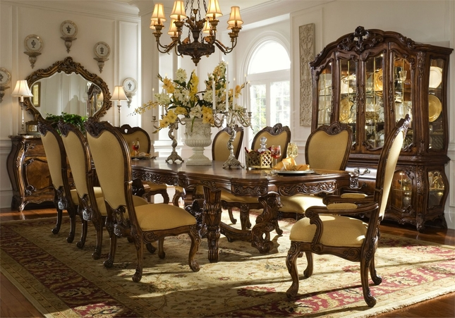 beautiful traditional dining room sets gallery - home ideas design