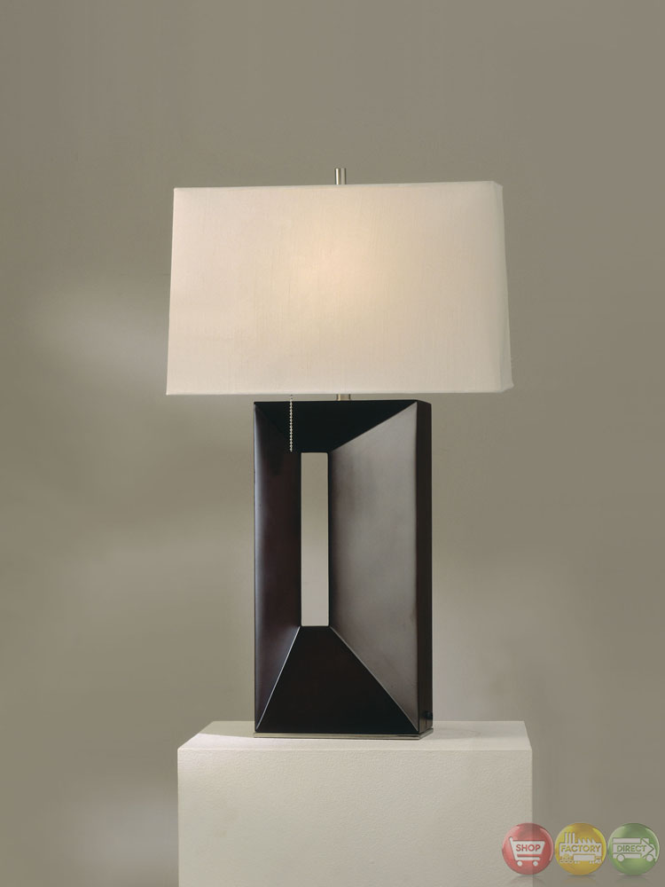 Parallux Standing Cream Shade Modern Table Lamp 410