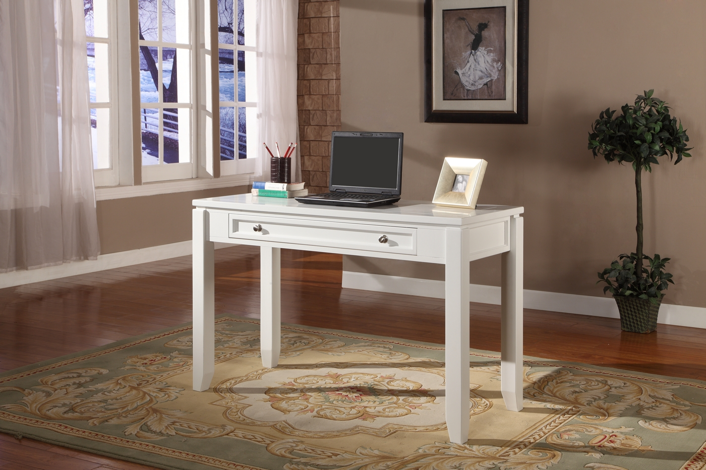 cottage writing desk Have you been searching for the perfect white computer desk to add to your office or home this home office desk from sauder is a great choice shop today.