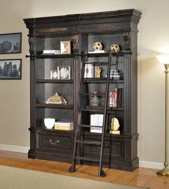Parker House Grand Manor Palazzo 2 Piece Museum Bookcase GGRA-PACK-E