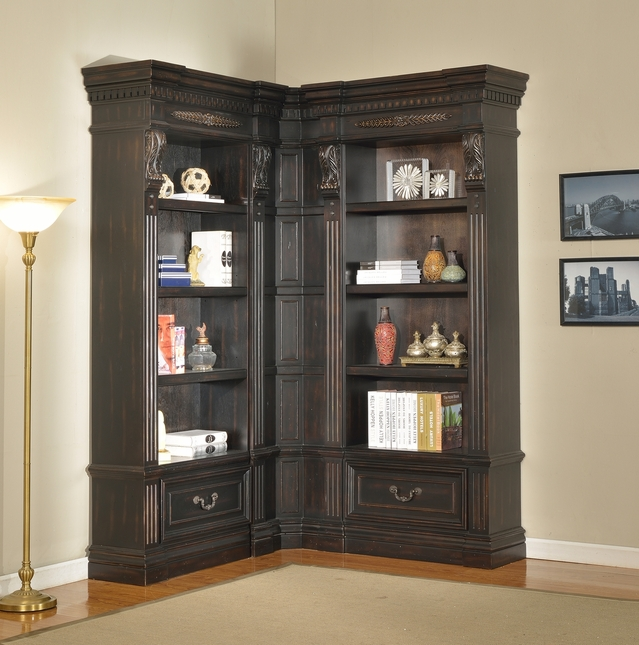 Parker House Grand Manor Palazzo Museum Bookcases GGRA-PACK-G