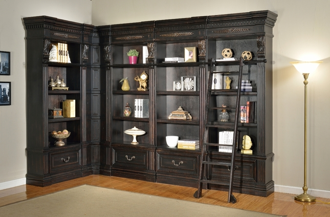Parker House Grand Manor Palazzo Museum Bookcases GGRA-PACK-I