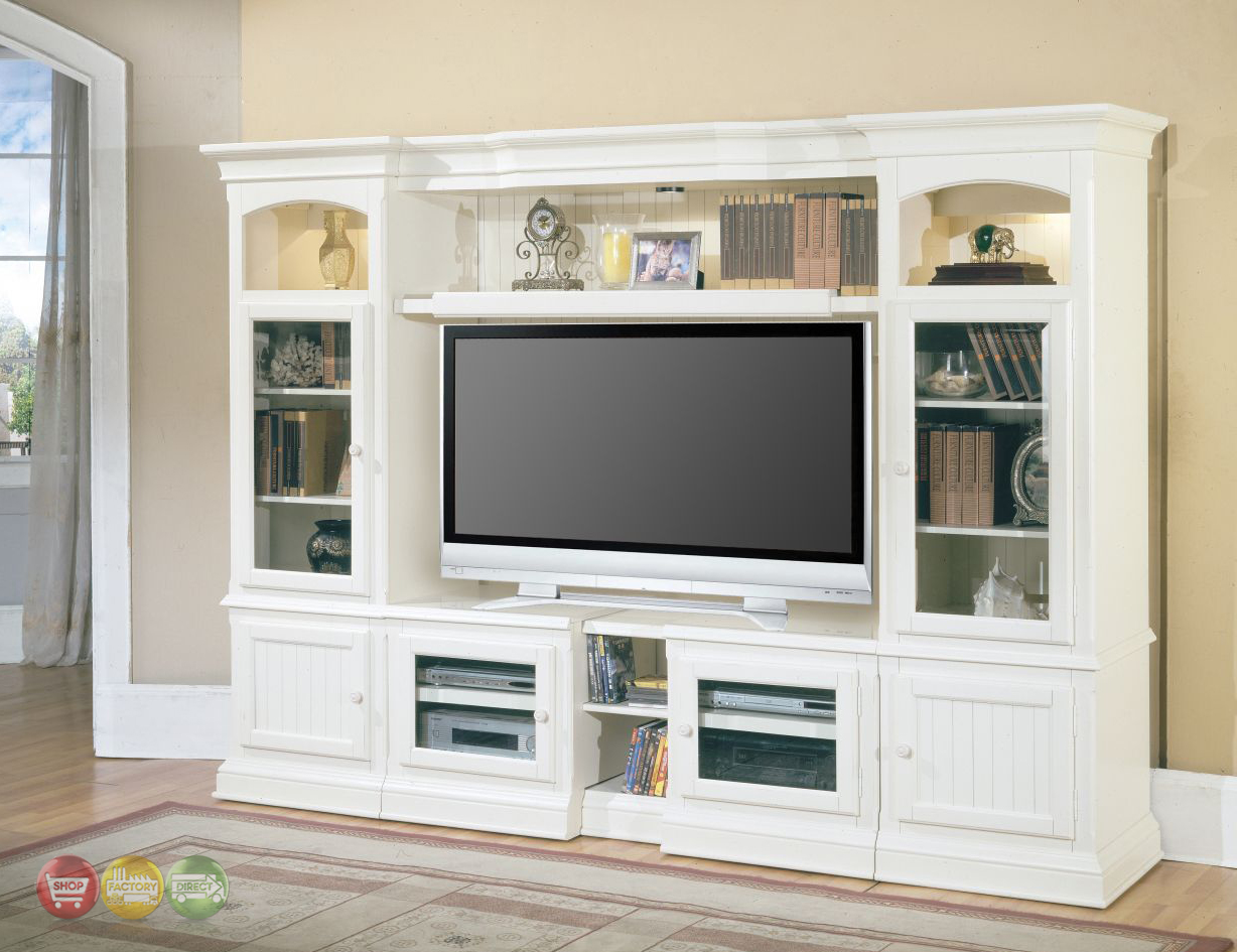 Parker house hartford 48 72 expandable entertainment Wall unit furniture