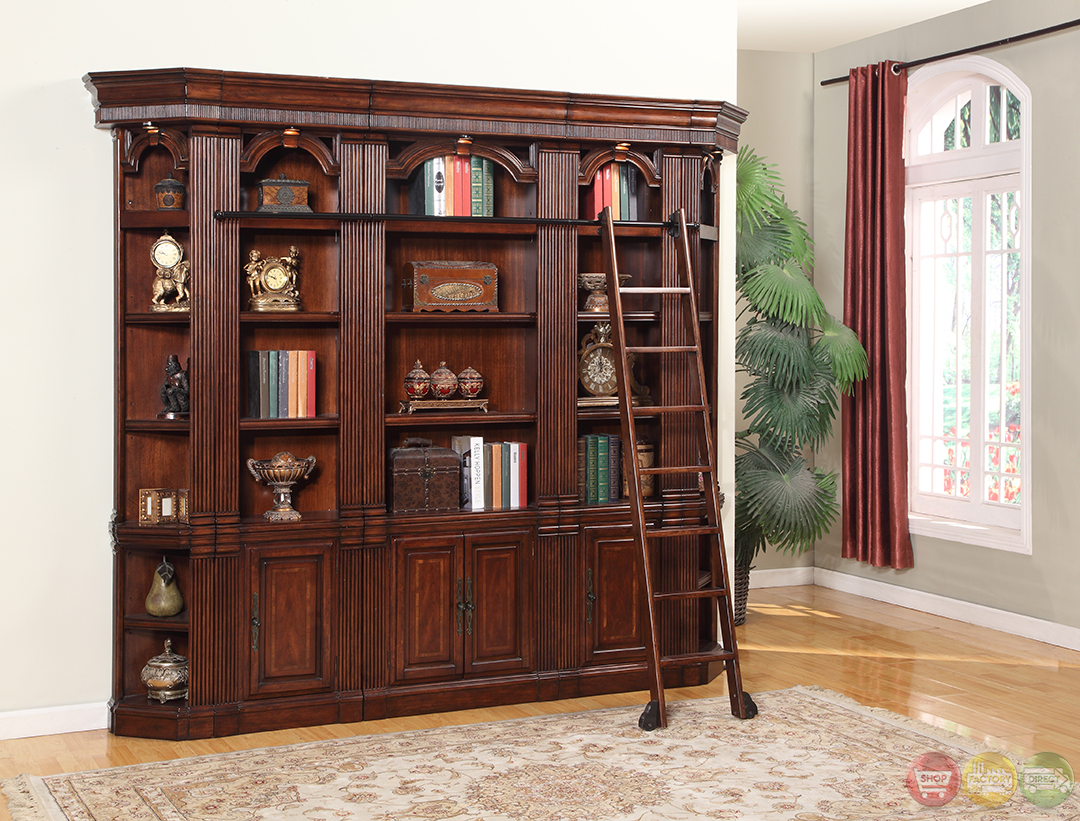 Antique Mahogany Dining Room Furniture Parker House Welington Antique Library Bookcase Wall Wel