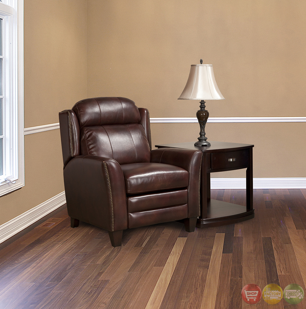 Parker Living Darwin Smoke Umber Leather Reclining Chair