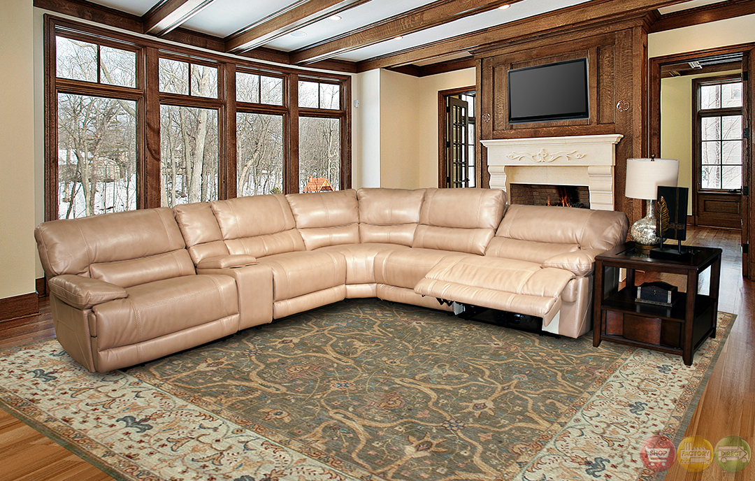 Parker Living Pegasus Sand Colored Modular Power Reclining