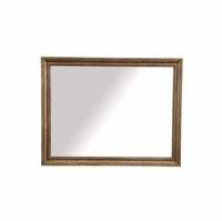 Pavilion Coastal Radiata Pine Dresser Mirror With Barley Finish